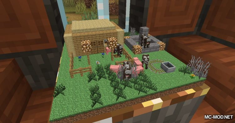 Chunk In A Globe mod for Minecraft (5)
