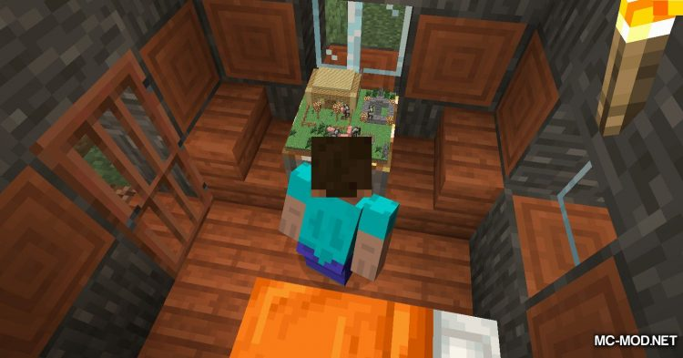 Chunk In A Globe mod for Minecraft (6)