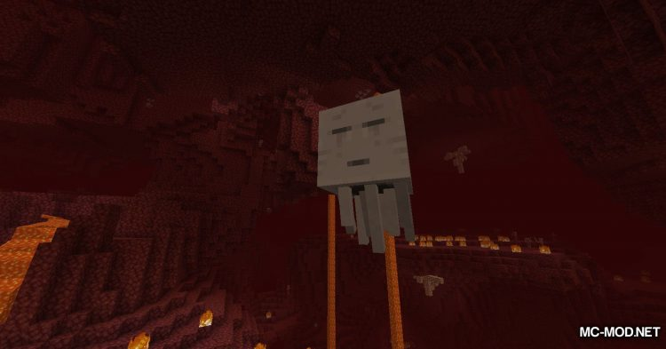 Crying Ghasts mod for Minecraft (2)