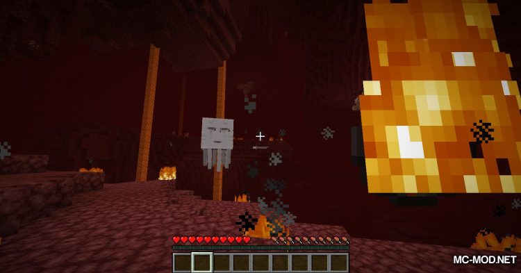 Crying Ghasts mod for Minecraft (3)