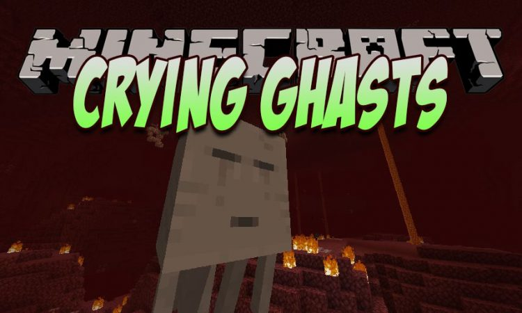Crying Ghasts mod for Minecraft logo