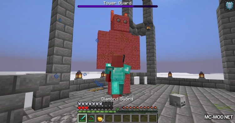 Draylar_s Battle Towers mod for Minecraft (19)
