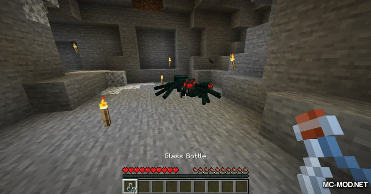 Exrtact Poison mod for Minecraft (3)