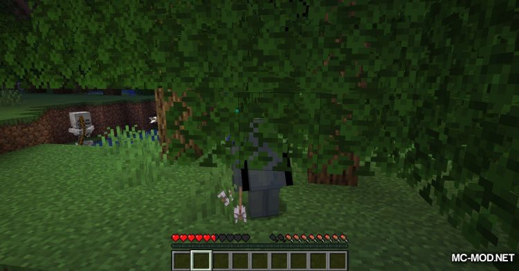 Fabric Passable Leaves mod for Minecraft (11)