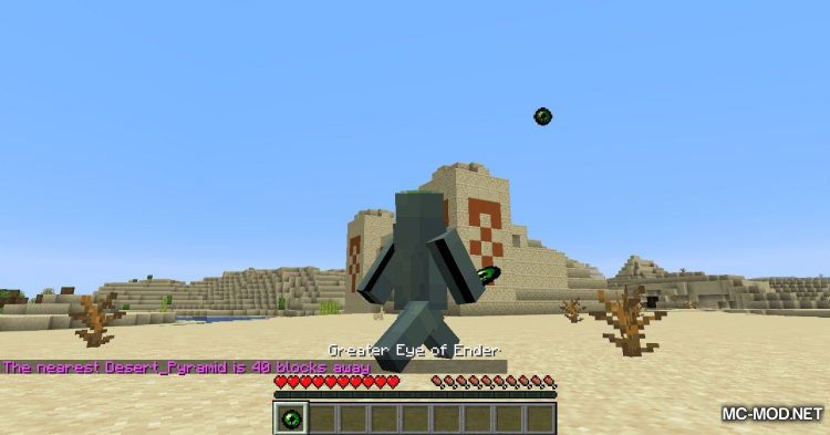 Greater Eye of Ender mod for Minecraft (10)