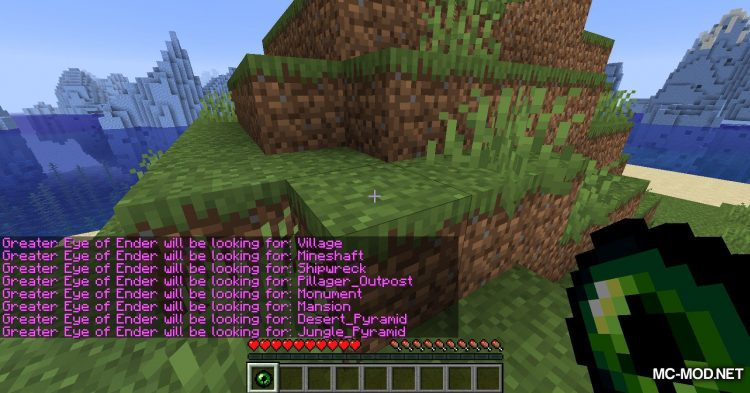 Greater Eye of Ender mod for Minecraft (3)
