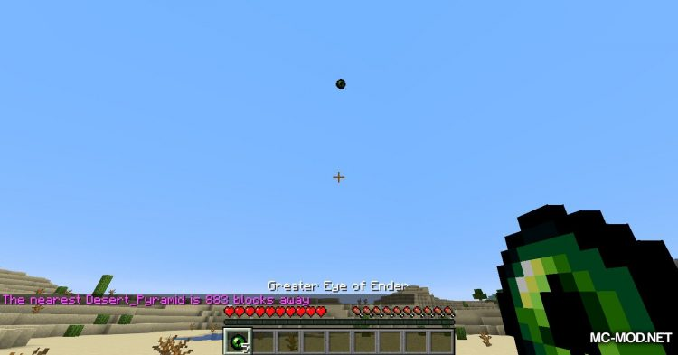 Greater Eye of Ender mod for Minecraft (9)