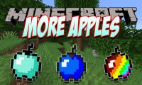 More Apples mod for Minecraft logo