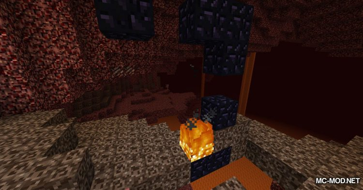 Natural Nether Portals mod for Minecraft (6)