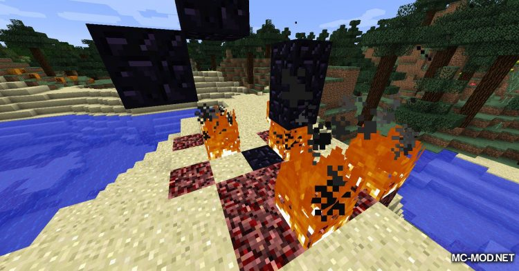 Natural Nether Portals mod for Minecraft (8)