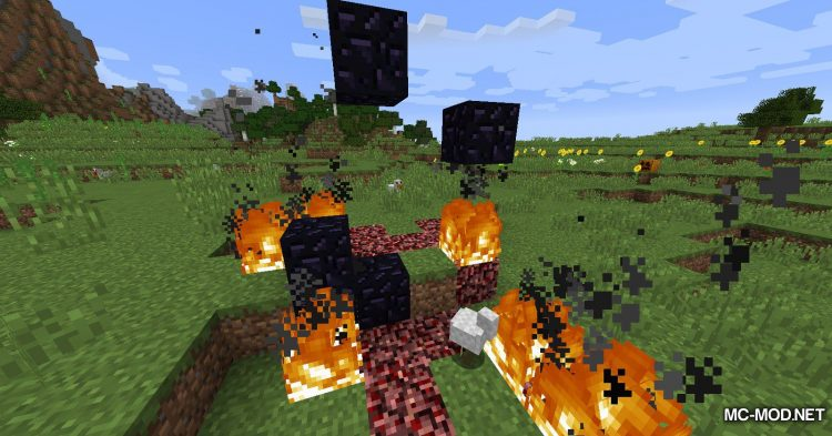 Natural Nether Portals mod for Minecraft (9)