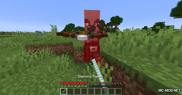 Panzer_s Medieval Weapons mod for Minecraft (10)
