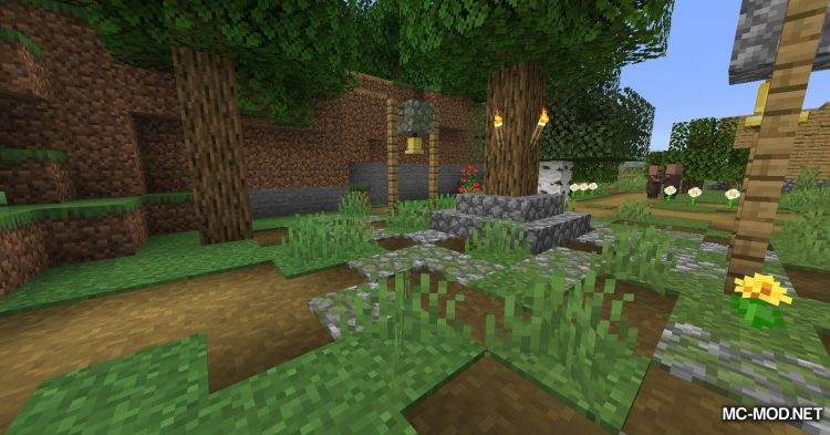 Path To Dirt mod for Minecraft (2)