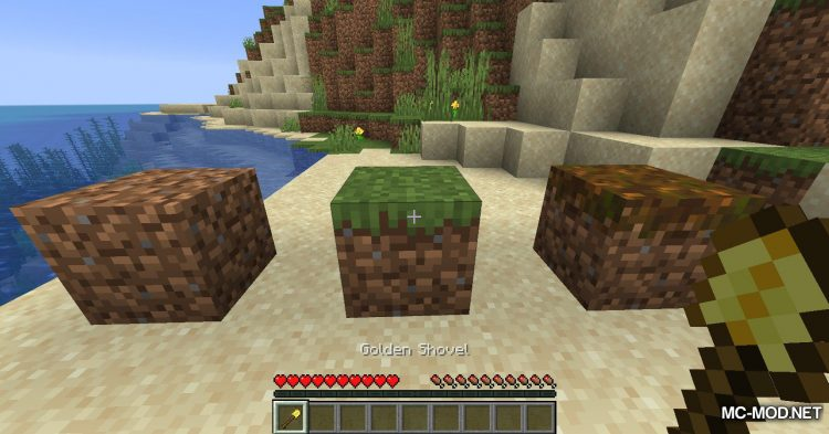 Path To Dirt mod for Minecraft (3)
