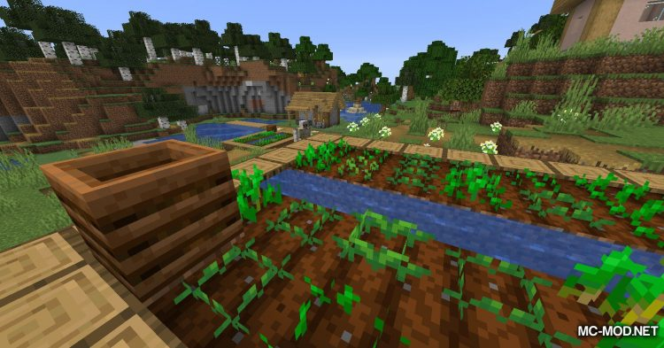 Replanting Crops mod for Minecraft (2)