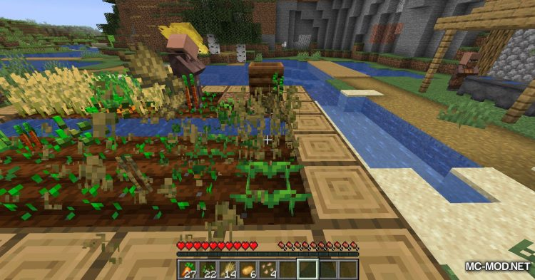 Replanting Crops mod for Minecraft (5)