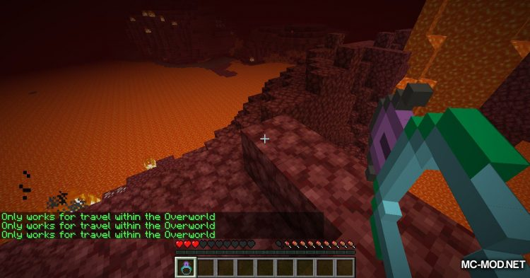 Ring of Return mod for Minecraft (11)