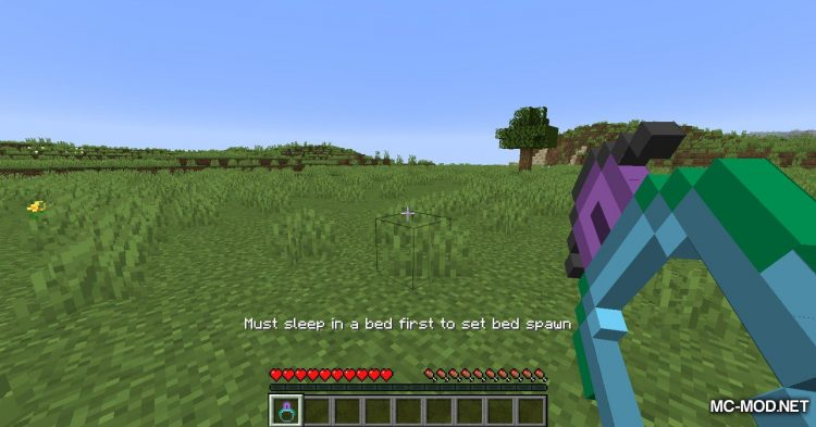 Ring of Return mod for Minecraft (4)
