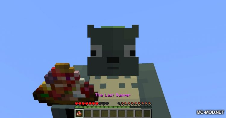 The Last Supper mod for Minecraft (12)