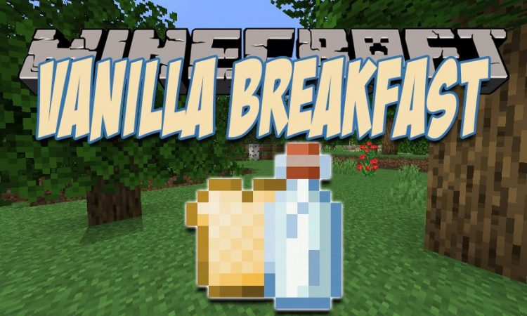 VanillaBreakfast mod for Minecraft logo