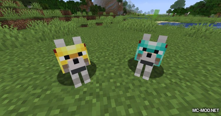 Wolves With Armor mod for Minecraft (7)