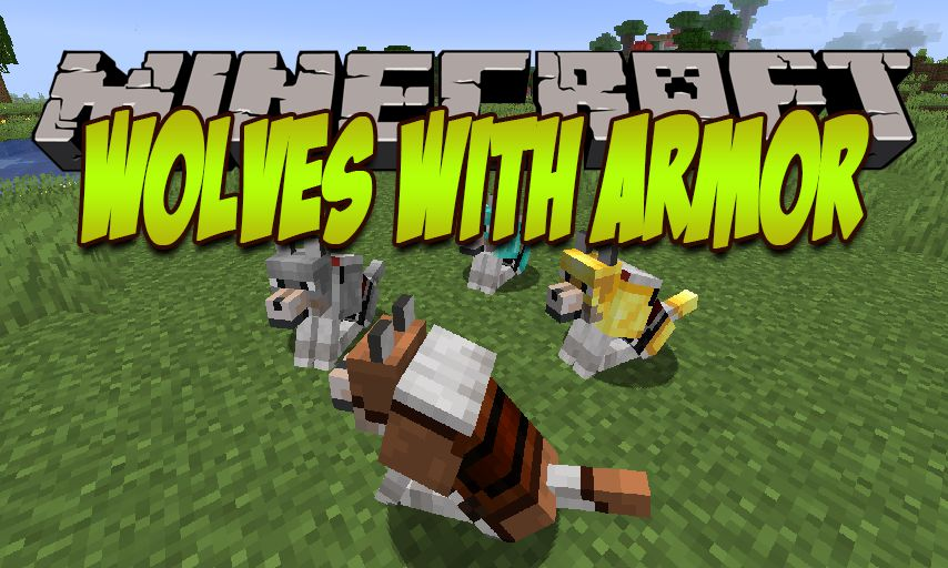 Wolves With Armor mod for Minecraft logo