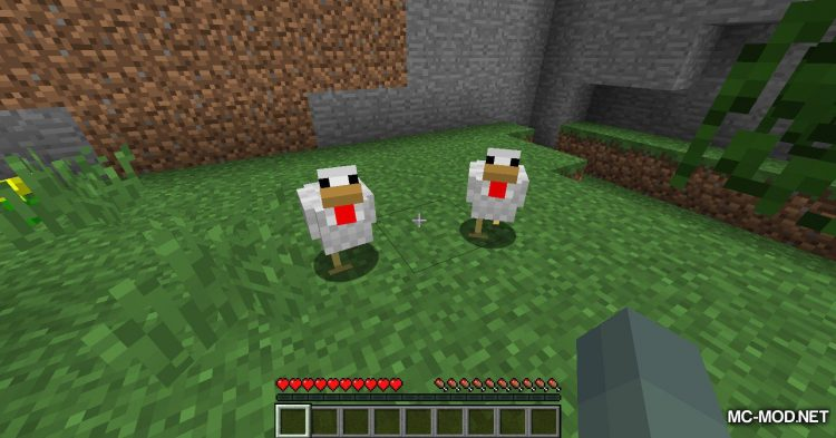 Aggressive Chickens mod for Minecraft (4)
