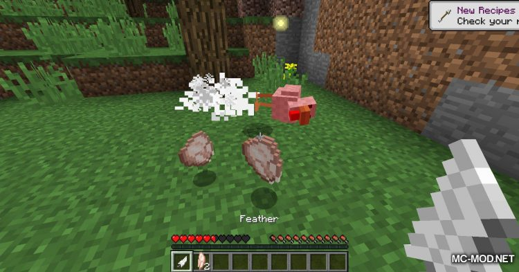 Aggressive Chickens mod for Minecraft (6)