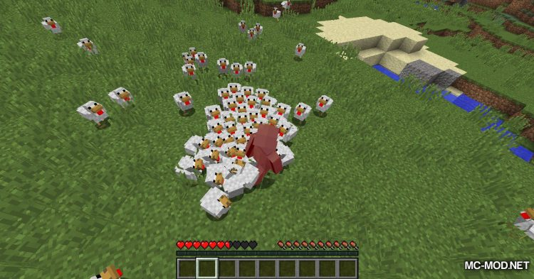 Aggressive Chickens mod for Minecraft (9)