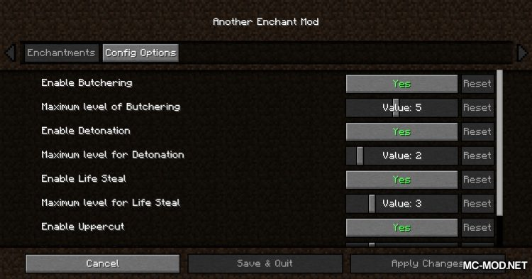 Another Enchant Mod mod for Minecraft (16)