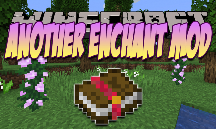 Another Enchant Mod mod for Minecraft logo