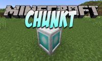 Chunkt mod for Minecraft logo