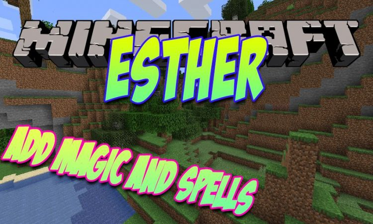 Esther mod for Minecraft logo