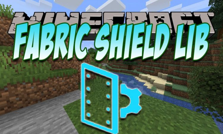Fabric Shield Lib mod for Minecraft logo