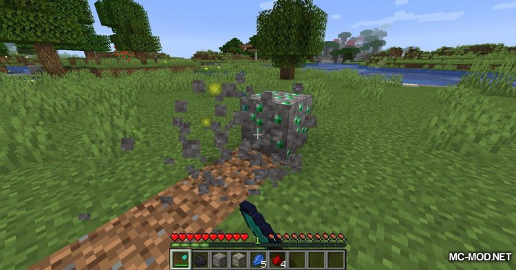 Gravel Ores mod for Minecraft (13)