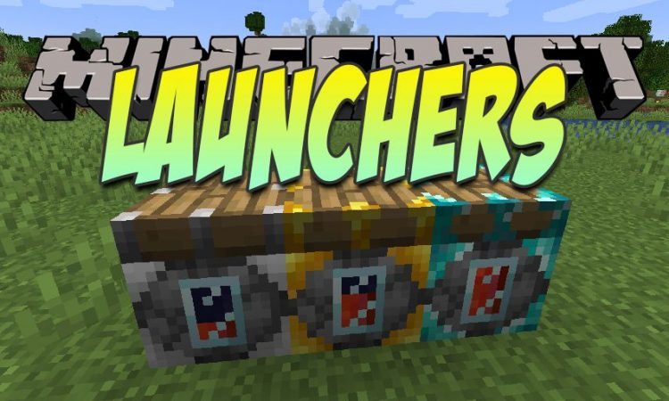Launchers mod for Minecraft logo