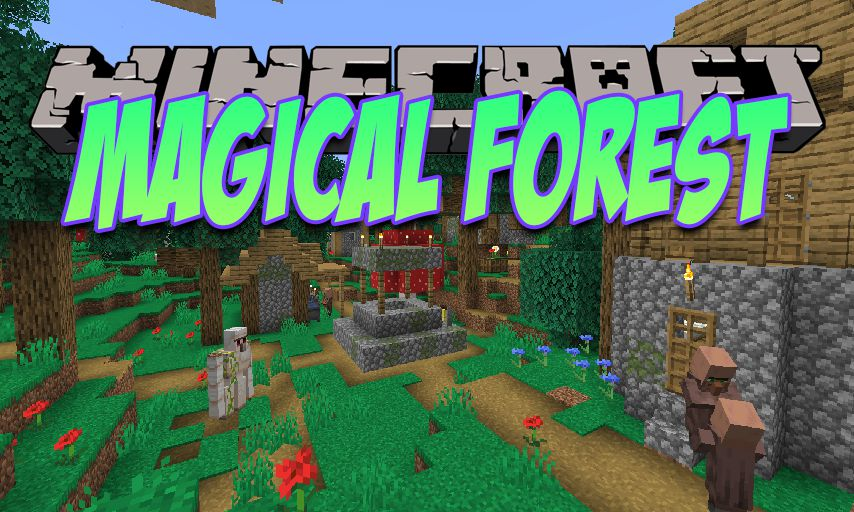 Magical Forest mod for Minecraft logo