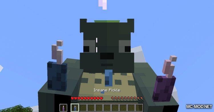 Overpowered Pickles mod for Minecraft (2)