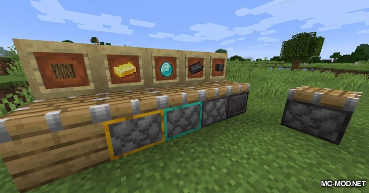 Pulaskis and Shaxes mod for Minecraft (11)