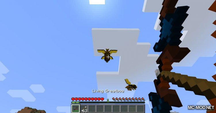 Scape and Run Parasites mod for Minecraft (16)