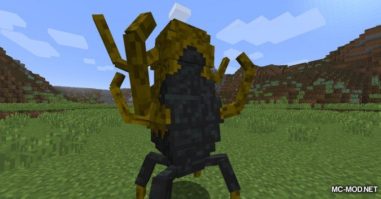 Scape and Run Parasites mod for Minecraft (2)