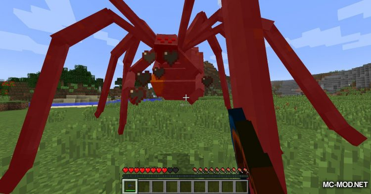 Scape and Run Parasites mod for Minecraft (8)
