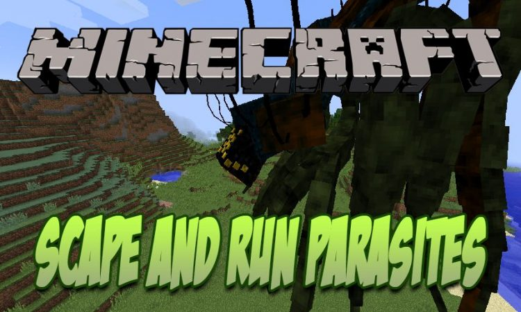 Scape and Run Parasites mod for Minecraft logo