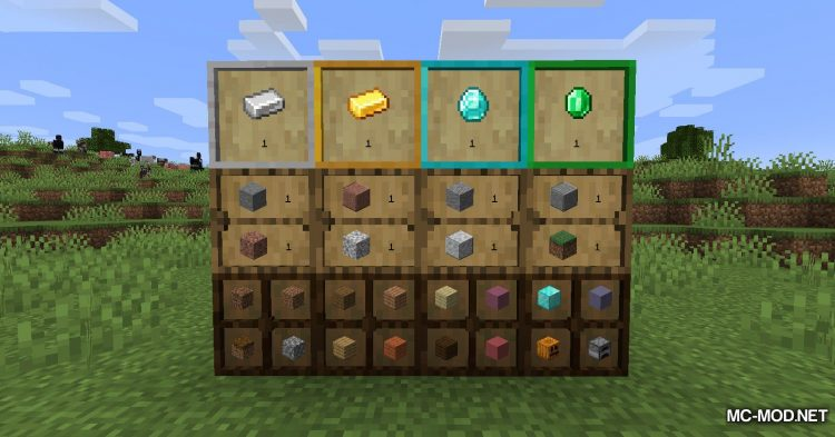 Simple Drawers mod for Minecraft (16)