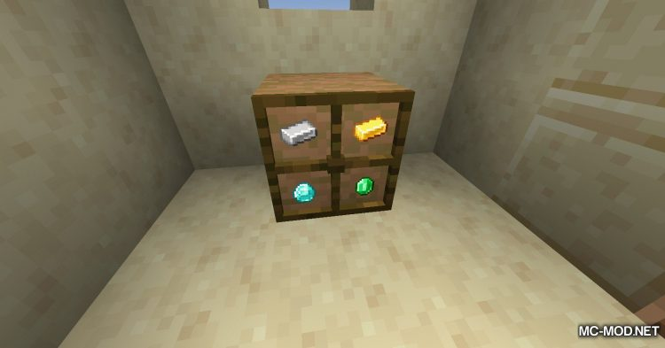 Simple Drawers mod for Minecraft (7)