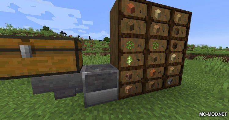 Simple Drawers mod for Minecraft (9)