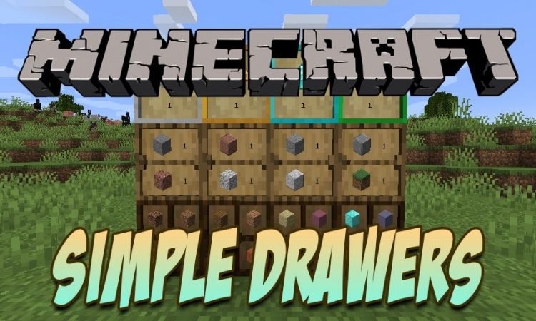 Simple Drawers mod for Minecraft logo