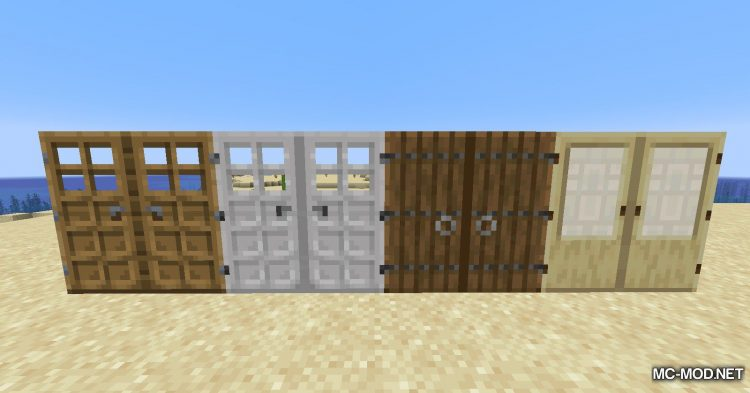 Dramatic Doors mod for Minecraft (2)