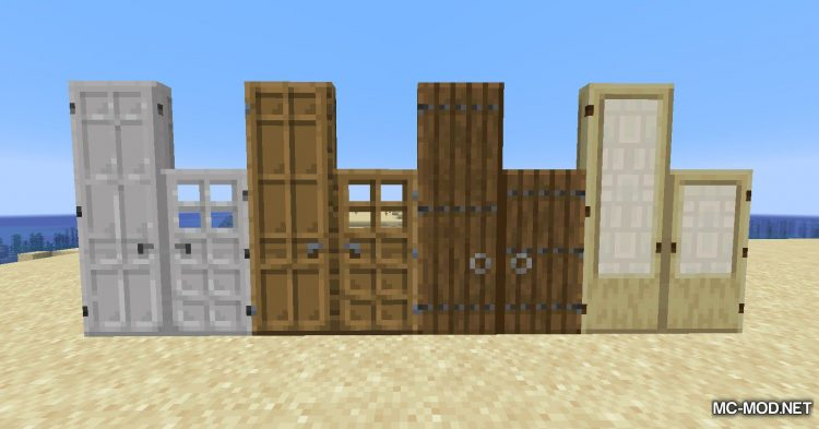 Dramatic Doors mod for Minecraft (4)
