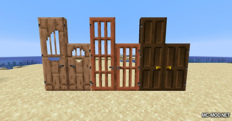 Dramatic Doors mod for Minecraft (5)